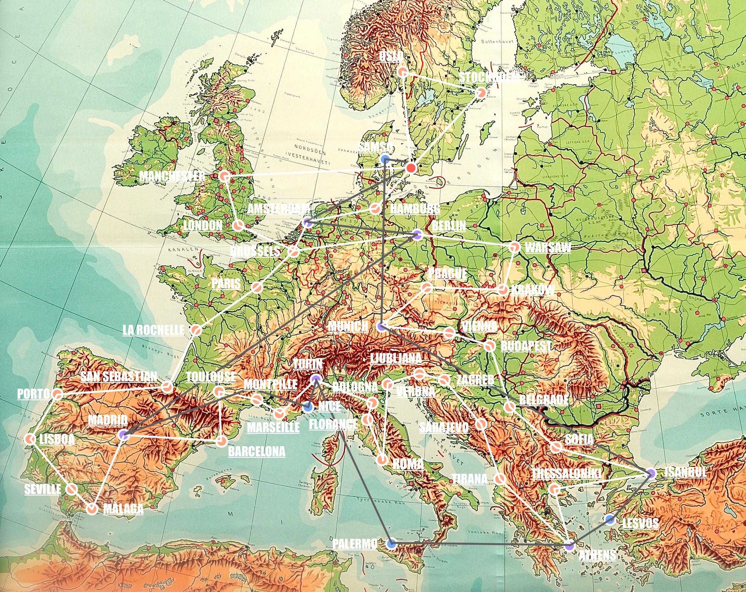 Om Vores Europa
